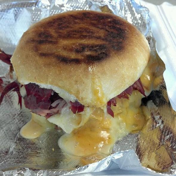 Reuben Sandwich @ Tailgate Deli