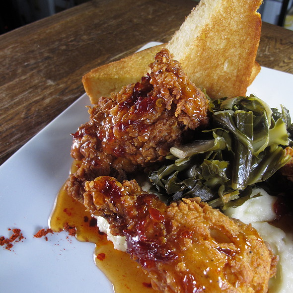 Famous Southern Fried Chicken @ Max's Wine Dive