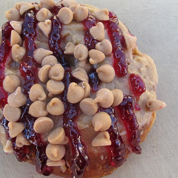 PB & J @ Gourdough's Donuts