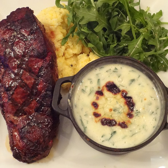 Char Grilled Angus Strip Steak - Tallulah Crafted Food and Wine Bar at Renaissance Baton Rouge, Baton Rouge, LA