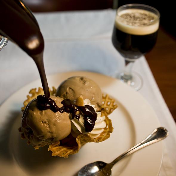 Macadamia Nut Ice Cream @ Bern's Steak House