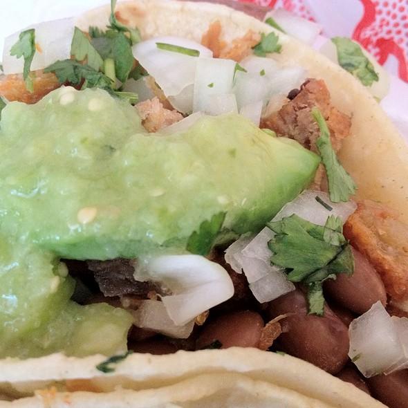 Chicharron Taco @ Tacos Jalisco