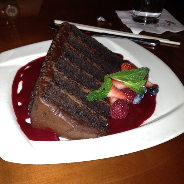 great wall of chocolate @ Pf Changs