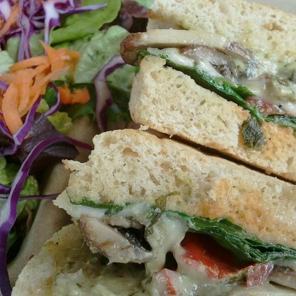 Portabello Mushroom Sandwich @ Kale's Natural Foods