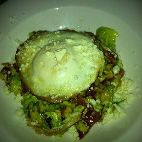 Brussell Sprouts Salad - Park Cafe, Nashville, TN