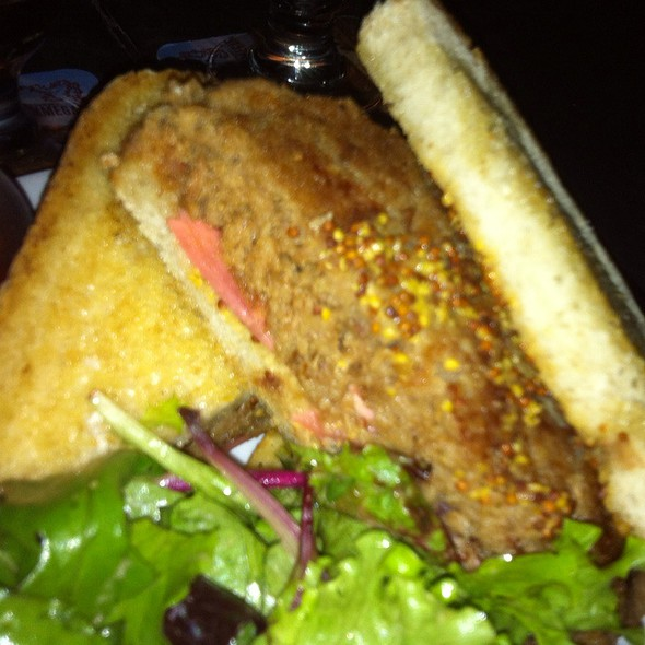 Crispy Pork Rillette Sandwich @ The Sidecar Bar & Grille