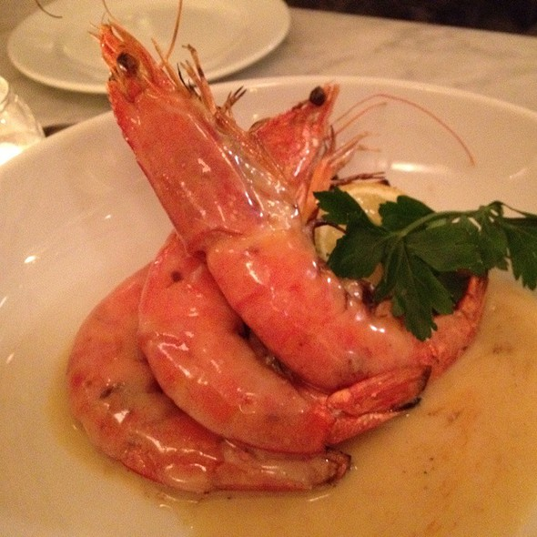 Prawns in Anchovy Butter @ Prune