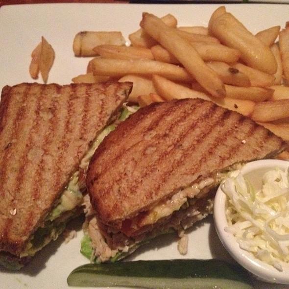 Roast Turkey And Smoked Gouda Sandwich @ Mustang Harry's