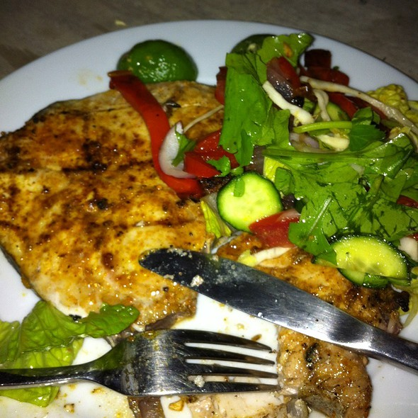 Bbq King Fish With Salad @ Carols House