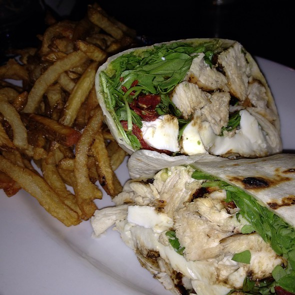 Chicken Salad Pesto Wrap @ Misconduct Tavern