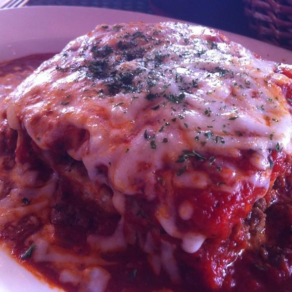 Meat Lasagna @ Sweet Basil Pizza Cafe
