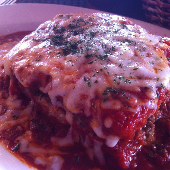 Meat Lasagna @ Sweet Basil Pizza Cafe