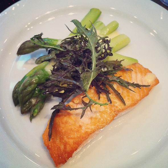 Salmon And Asparagus @ Kitchen Door