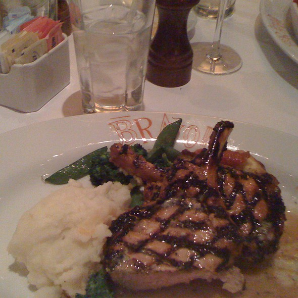 Grilled Pork Chops @ Brio Tuscan Grille