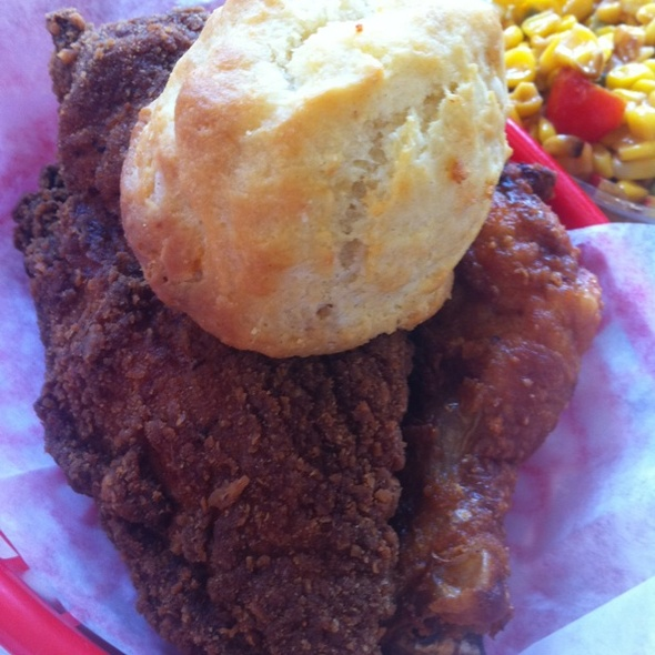 Fried Chicken and Biscuit @ Hill Country Chicken