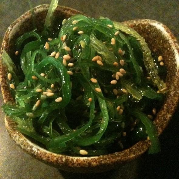 Seaweed Salad (Half Order) @ Waraji Japanese Restaurant