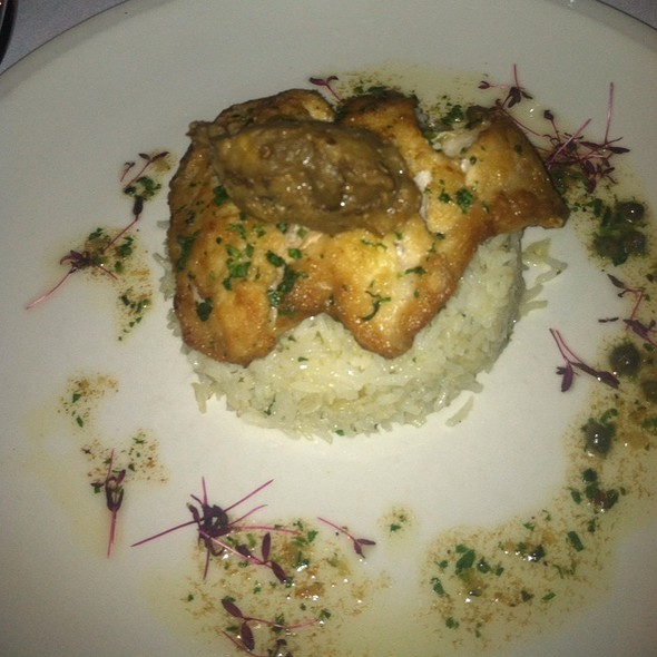 Texas Red Fish With Jasmine Rice @ Ostra