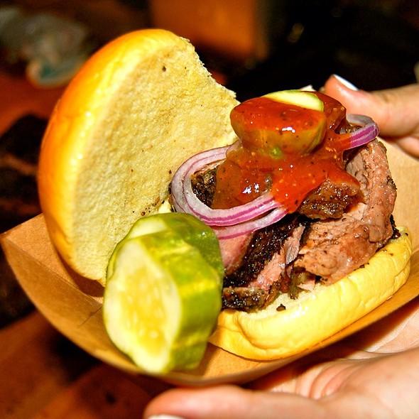 Smoked Brisket Sandwich @ Brooklyn Flea