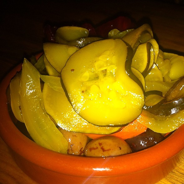 Pickles And Olives @ Toro Bravo