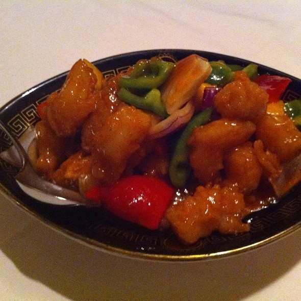 Sweet & Sour Prawns @ Pagoda Restaurant