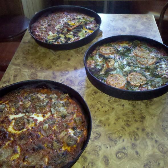 Pizzas @ Burt's Place