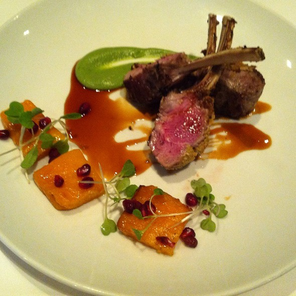 Lamb W/ Horopito Puree @ One Tree Grill