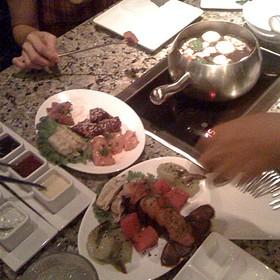 Seafood Fondue - The Melting Pot - Gaslamp Quarter, San Diego, CA