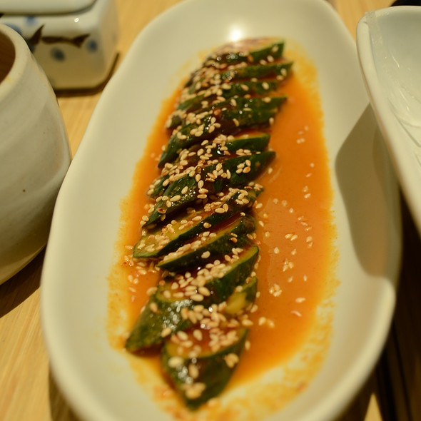 Cucumber Salad @ Yakitori Totto@J Avenue