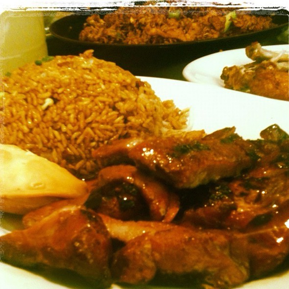 Bourbon Bbq Ribs , Pork Fried Rice , Chicken Wings