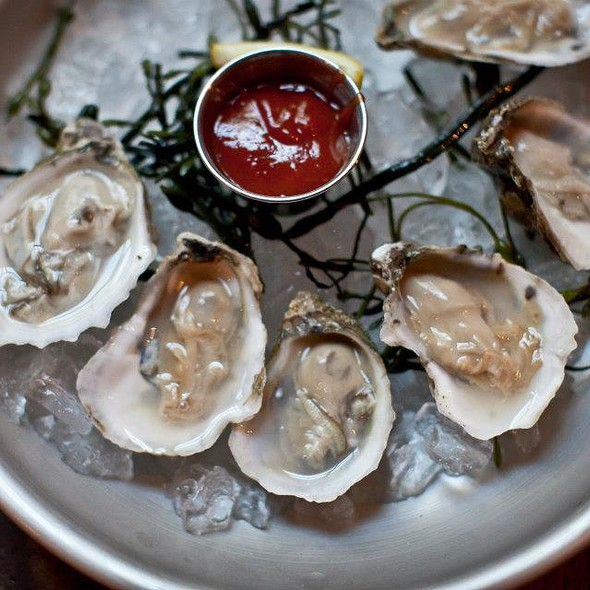 Malpeque Oysters - Heavy Seas Alehouse, Baltimore, MD