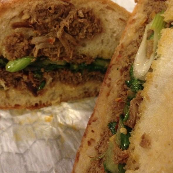 Szechuan Cumin Lamb Sandwich @ The Butcher & Larder