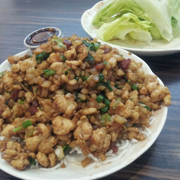 Minced Chicken Lettuce Cups @ Phoenix Food Boutique