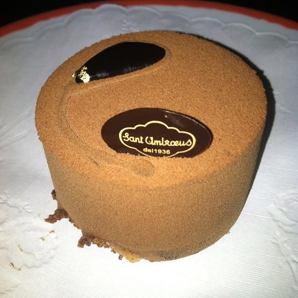 Chocolate Mousse Cake - Sant Ambroeus - West Village, New York, NY