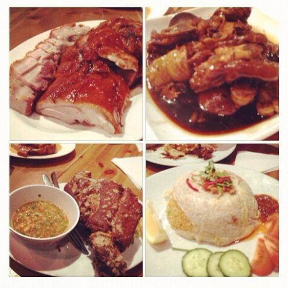 Duck, Pork Leg And Noodle
