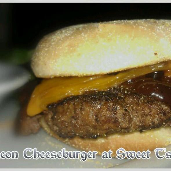 BBQ Bacon Cheeseburger  @ Sweet T's On Main