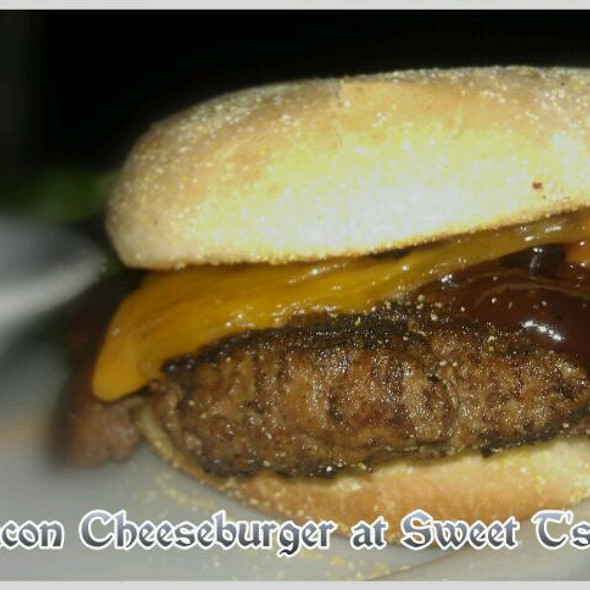 BBQ Bacon Cheeseburger  @ Sweet T's On Main