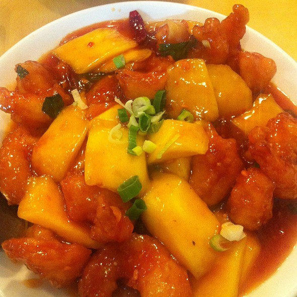 Spicy Mango Shrimp @ Chefs Chinese Food