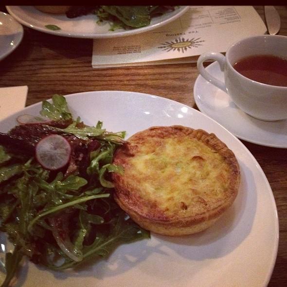 Quiche @ bosie tea parlor