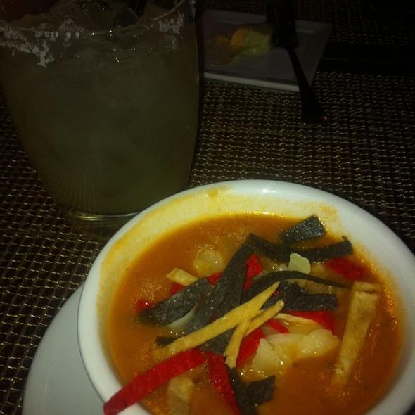 Tortilla Soup - Anasazi Restaurant, Santa Fe, NM