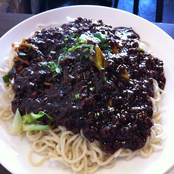 Pork and black bean noodle @ Chen's Noodle House