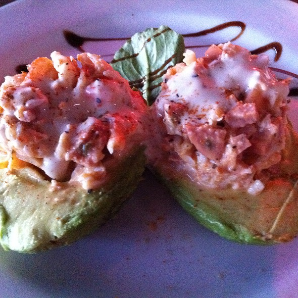 Stuffed Avocado With Crab @ Freda's Seafood Grille