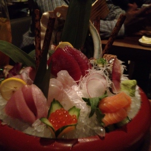 Sashimi @ Morimoto Napa