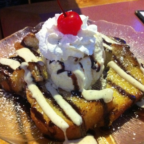 Fried Butter Pound Cake @ Side Street Inn