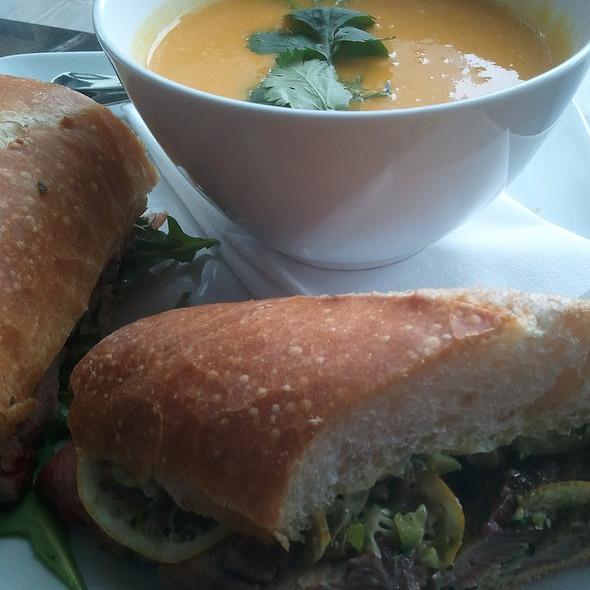 Kobe Beef Sandwich @ Café Cesura