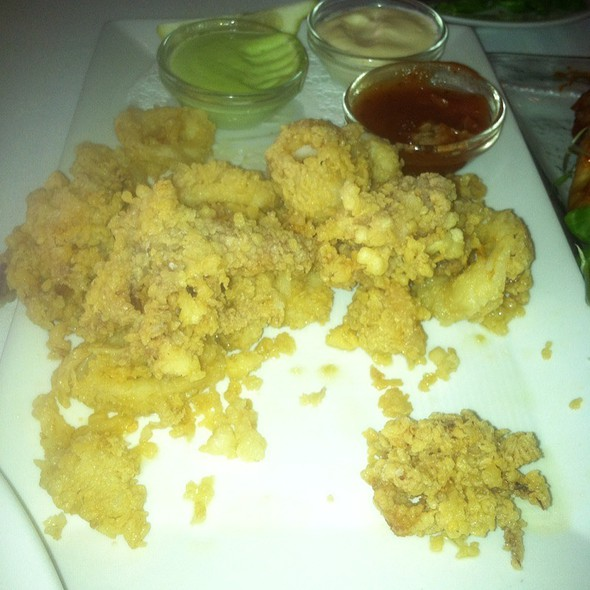 Fried Calamari @ Chef Geoff's Downtown