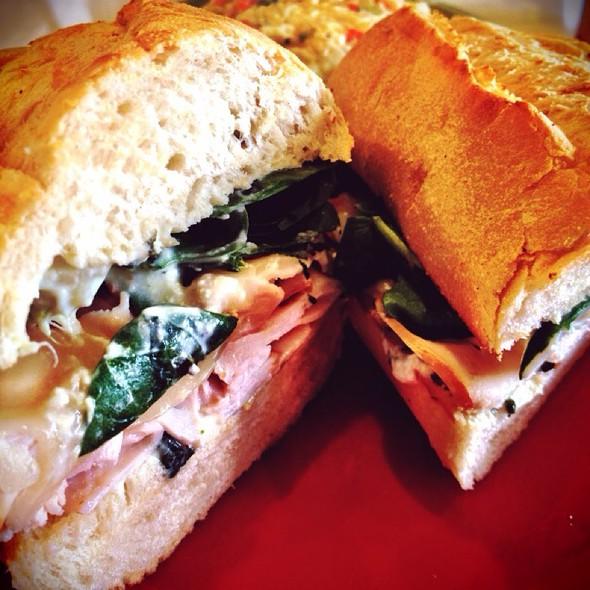 Turkey Florentine Sandwich @ Mcalister's Deli