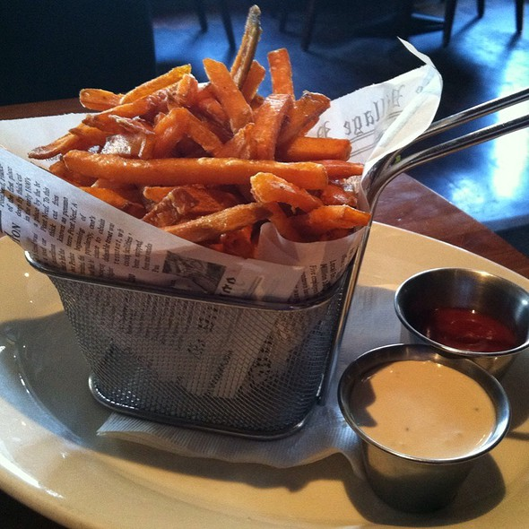 Sweet potato fries - Lumberyard, Laguna Beach, CA