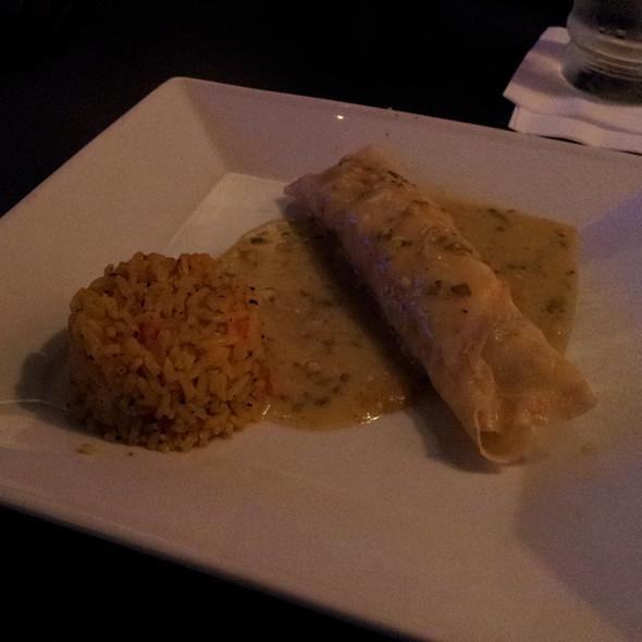 Curry Chicken Crepe @ Lexi Martinis & Tapas