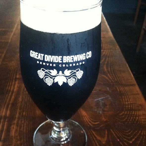 """Great Divide """"Smoked Baltic Porter"""" @ Great Divide Brewing Co"""