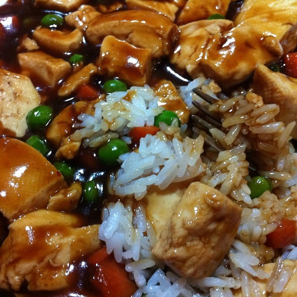 Bean Curd Szechuan Style @ China Jade